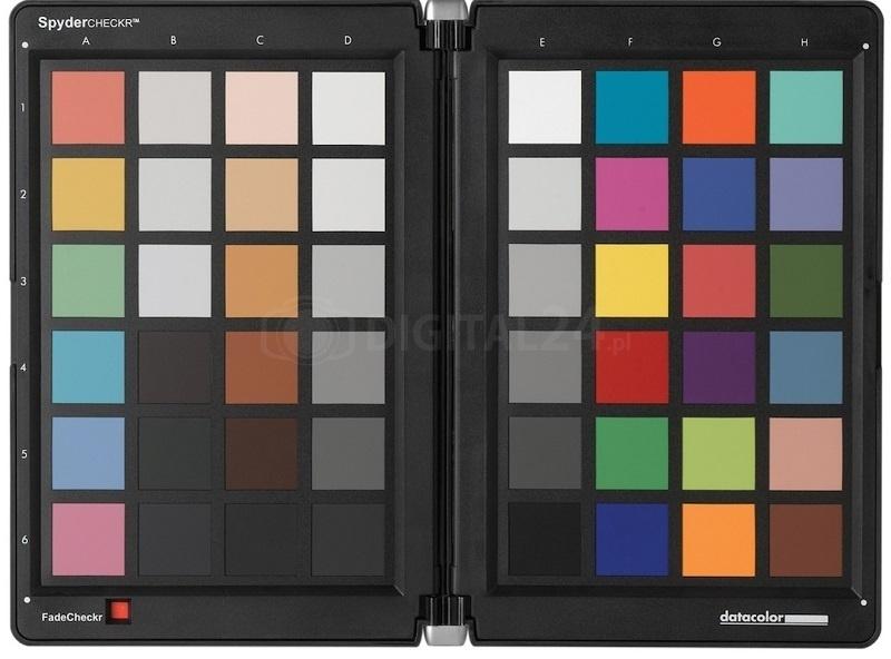 Datacolor SpyderCheckr - uniwersalny wzorzec barw 48 pól