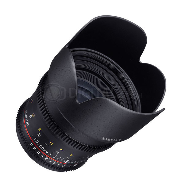 Obiektyw Samyang 50 mm T1.5 VDSLR Sony