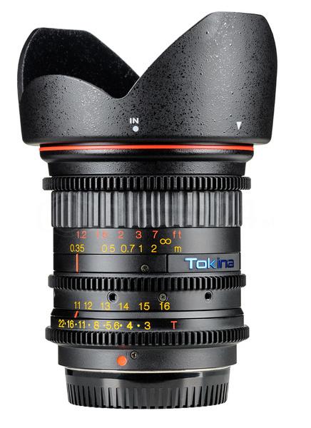 Obiektyw Tokina Cinema 11-16 mm T3 Cine Canon