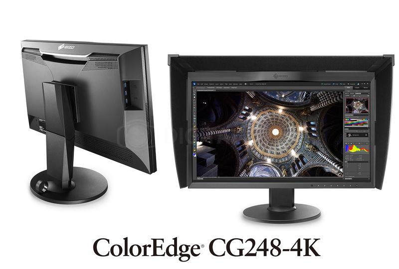 """Monitor EIZO LCD 24"""" (CG248-BK)"""