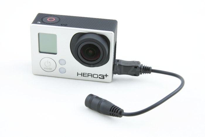 Adapter na Mikrofon Mini jack 3,5mm do GoPro Hero 4 3+ 3