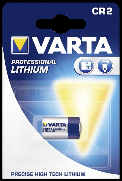 Bateria Varta Professional CR 2