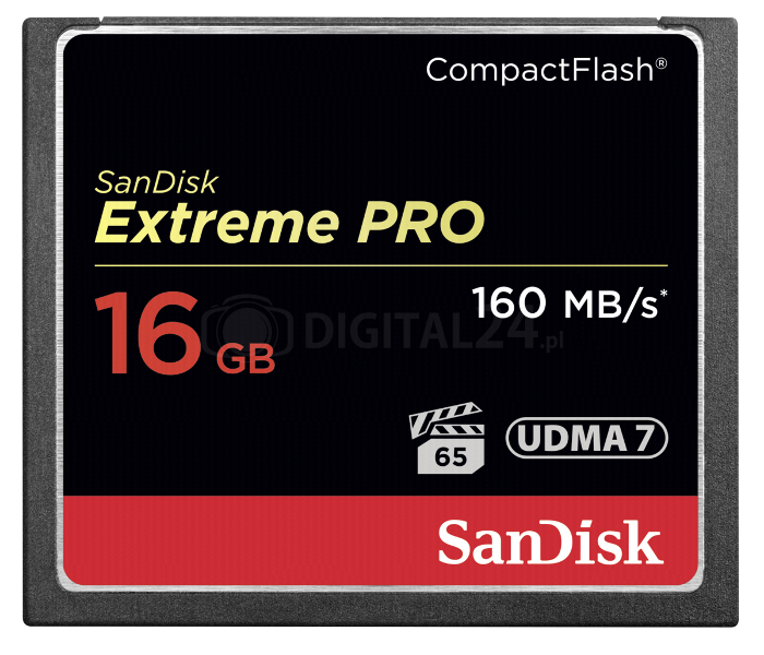 Karta pamięci SanDisk Extreme Pro CF 16GB 160MB/s