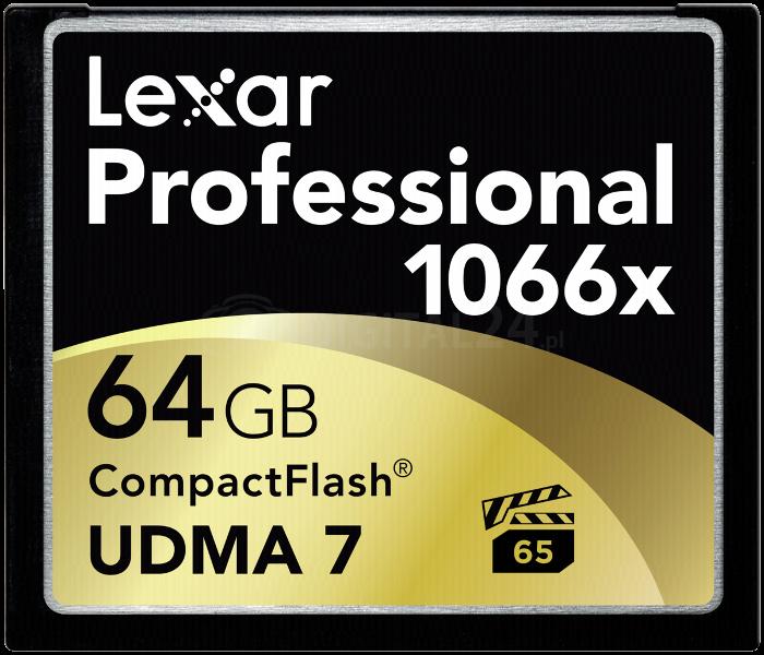 Karta pamięci Lexar CF Card 64GB 1066x Professional UDMA7