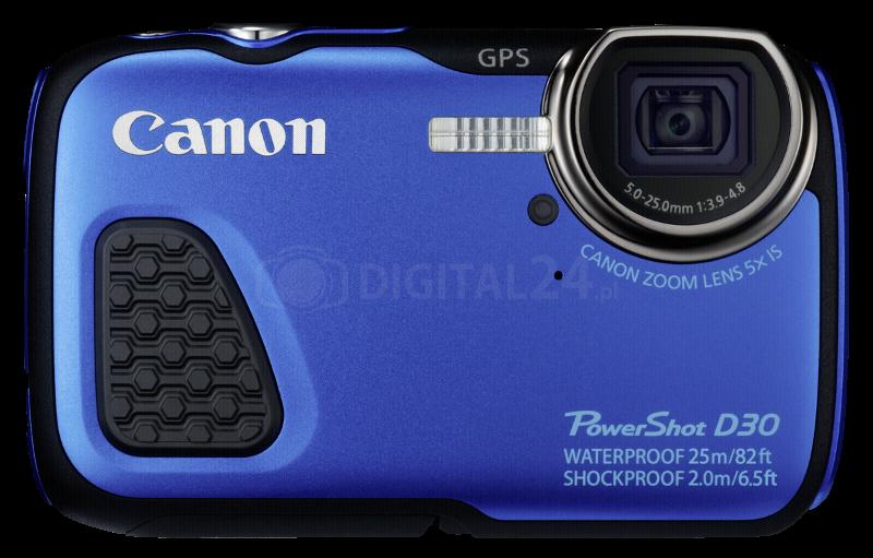 Aparat cyfrowy Canon PowerShot D30