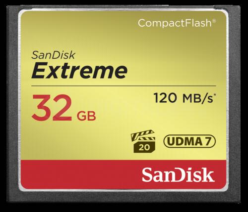 Karta pamięci SanDisk Extreme CF 32GB 120MB/s UDMA7
