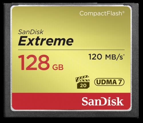 Karta pamięci SanDisk Extreme CF 128GB 120MB/s UDMA7
