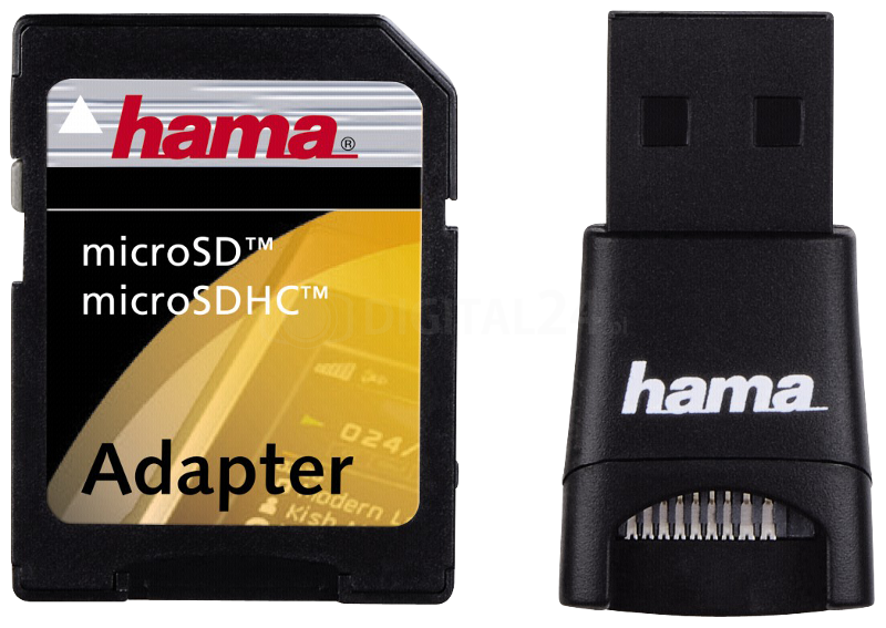 Czytnik Hama USB 2.0 + adapter microSD