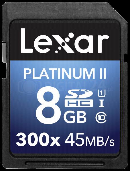 Karta pamięci Lexar SDHC 8GB 300x Premium II Class 10 UHS-I
