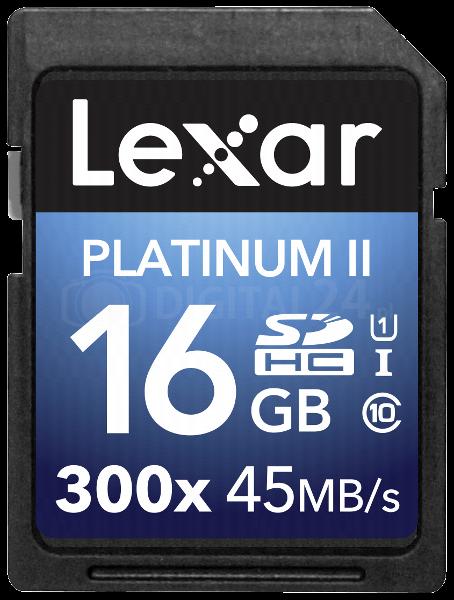 Karta pamięci Lexar SDHC 16GB 300x Premium II Class 10 UHS-I