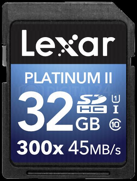 Karta pamięci Lexar SDHC 32GB 300x Premium II Class 10 UHS-I