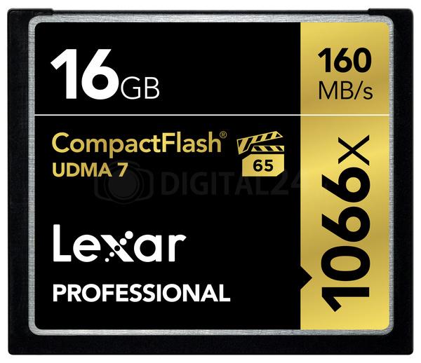 Karta pamięci Lexar CF Card 16GB 1066x Professional UDMA7