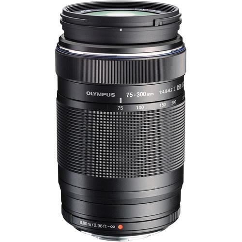 Obiektyw Olympus M.Zuiko Digital ED 75-300mm II czarny