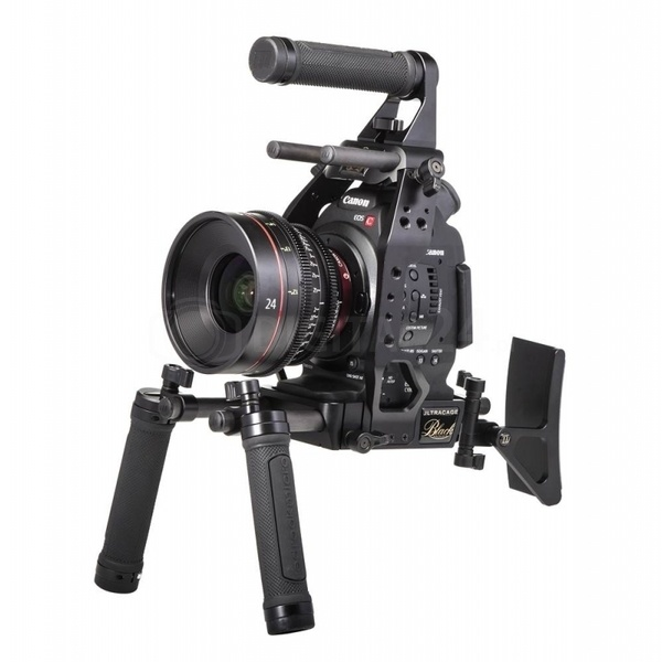Redrockmicro ręczny rig ultraCage Black the Event dla Canon C100