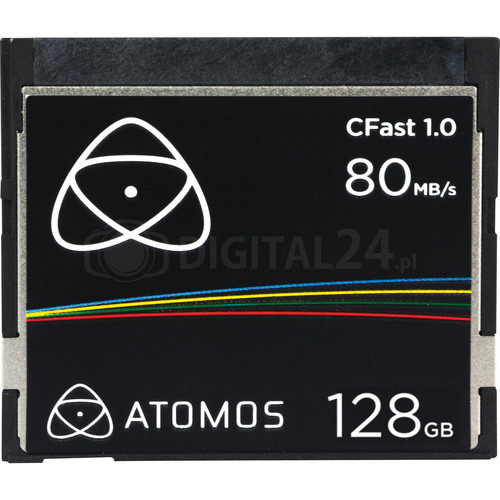 Karta Atomos CFast 1.0 - 128 GB