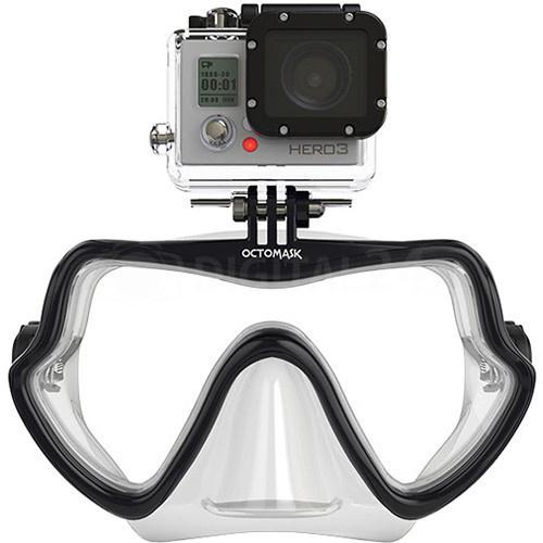 Maska do nurkowania Octomask Frameless 202 przeźroczysta