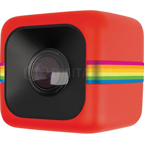 Kamera Polaroid Cube czerwona