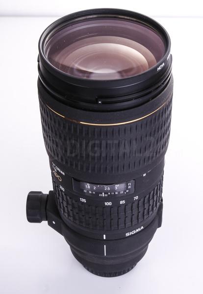 Używany obiektyw Sigma 70-200 mm f/2,8 APO -SONY/MINOLTA