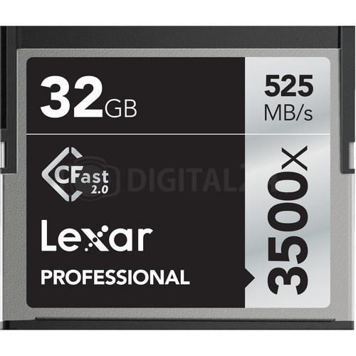 Karta pamięci Lexar CFast 2.0 32GB 3500x Professional
