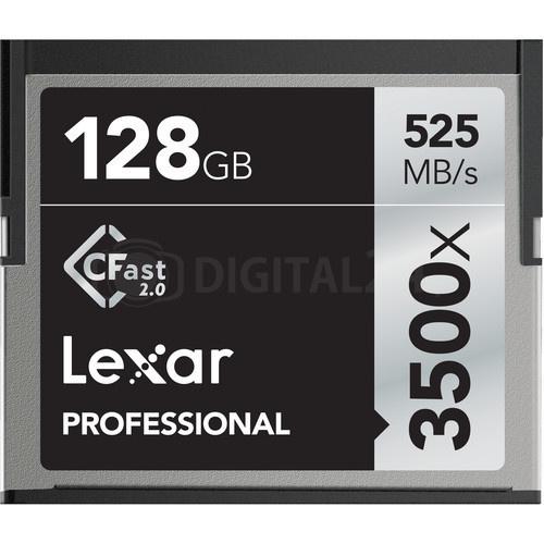Karta pamięci Lexar CFast 2.0 128GB 3500x Professional
