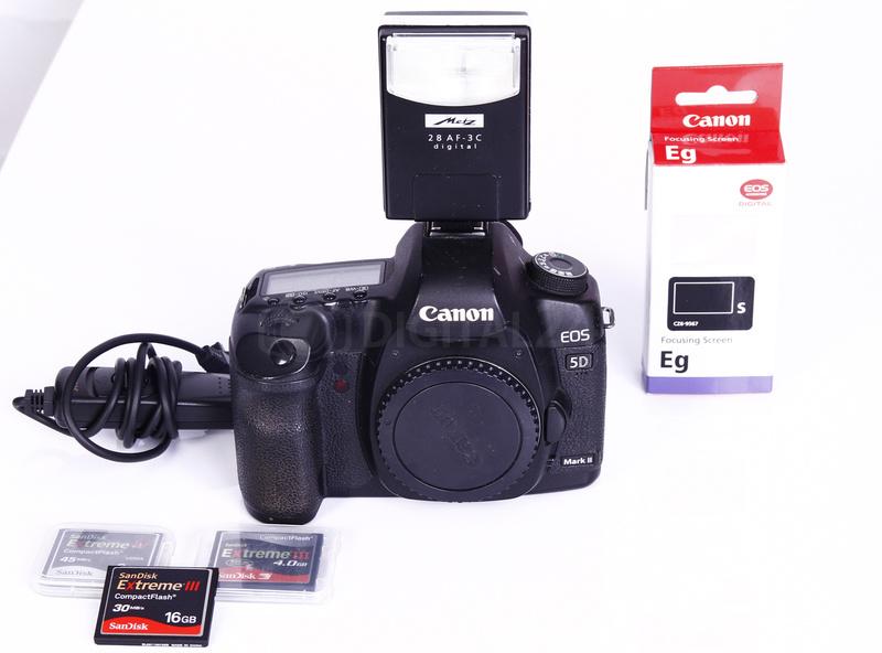 Używany aparat cyfrowy Canon EOS 5D mark II + zestaw akcesoriów