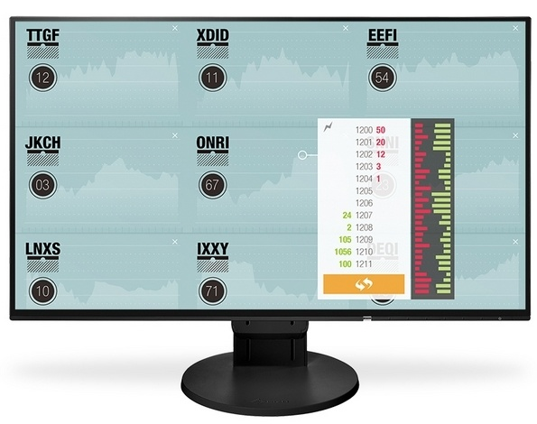 "EIZO Monitor LCD 23.8"" EV2451-BK, Wide (16:9), IPS, LED, FlexStand 4, czarny."