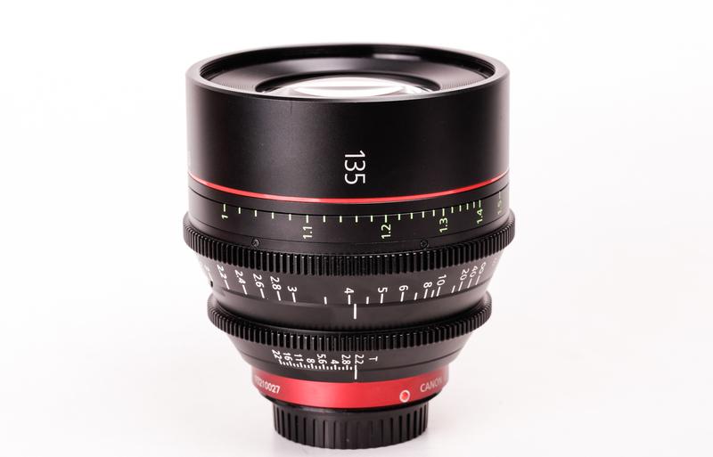 Używany obiektyw Canon CN-E135mm T2.2 L F (M)