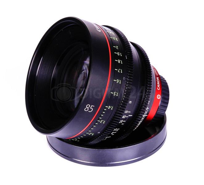 Używany obiektyw Canon EF Cinema CN-E 85 mm T1.3 L F (M)