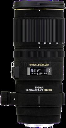 Obiektyw Sigma 70-200 mm f/2.8 EX DG OS HSM Nikon