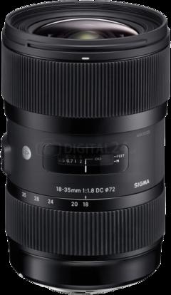 Obiektyw Sigma 18-35 mm f/1.8 DC HSM ART Canon 3 Lata Gwarancji