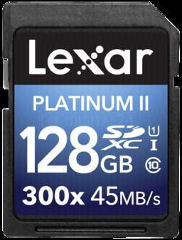 Karta pamięci Lexar SDXC 128GB 300x Premium II Class 10 UHS-I