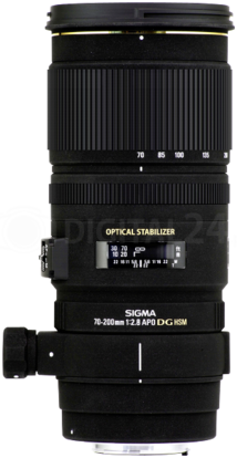 Obiektyw Sigma 70-200 mm f/2.8 EX DG OS HSM Canon