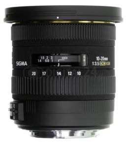 Obiektyw Sigma 10-20 mm f/3.5 EX DC HSM Nikon