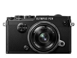 Aparat cyfrowy Olympus PEN-F + 17mm f/1.8 czarny