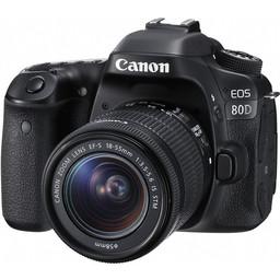 Lustrzanka cyfrowa Canon EOS 80D + 18-55 IS STM   - voucher 200zł do sieci 4F