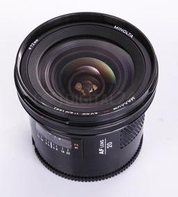 Używany obiektyw Minolta 20 mm f2,8