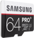 Karta pamięci Samsung microSDHC Class 10 64GB Pro+ + adapter