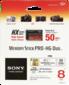 Karta pamięci Sony Memory Stick Pro HG Duo HX 8GB 50MB/s