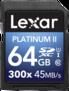 Karta pamięci Lexar SDXC 64GB 300x Premium II Class 10 UHS-I