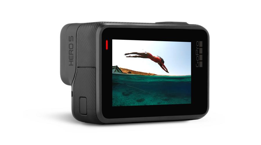 GoPro Hero5 lcd